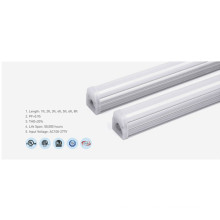 Aluminum PC 6000K 30W 1ft Led Tube Light
